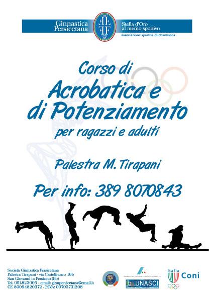 Corso di Acrobatica per adulti