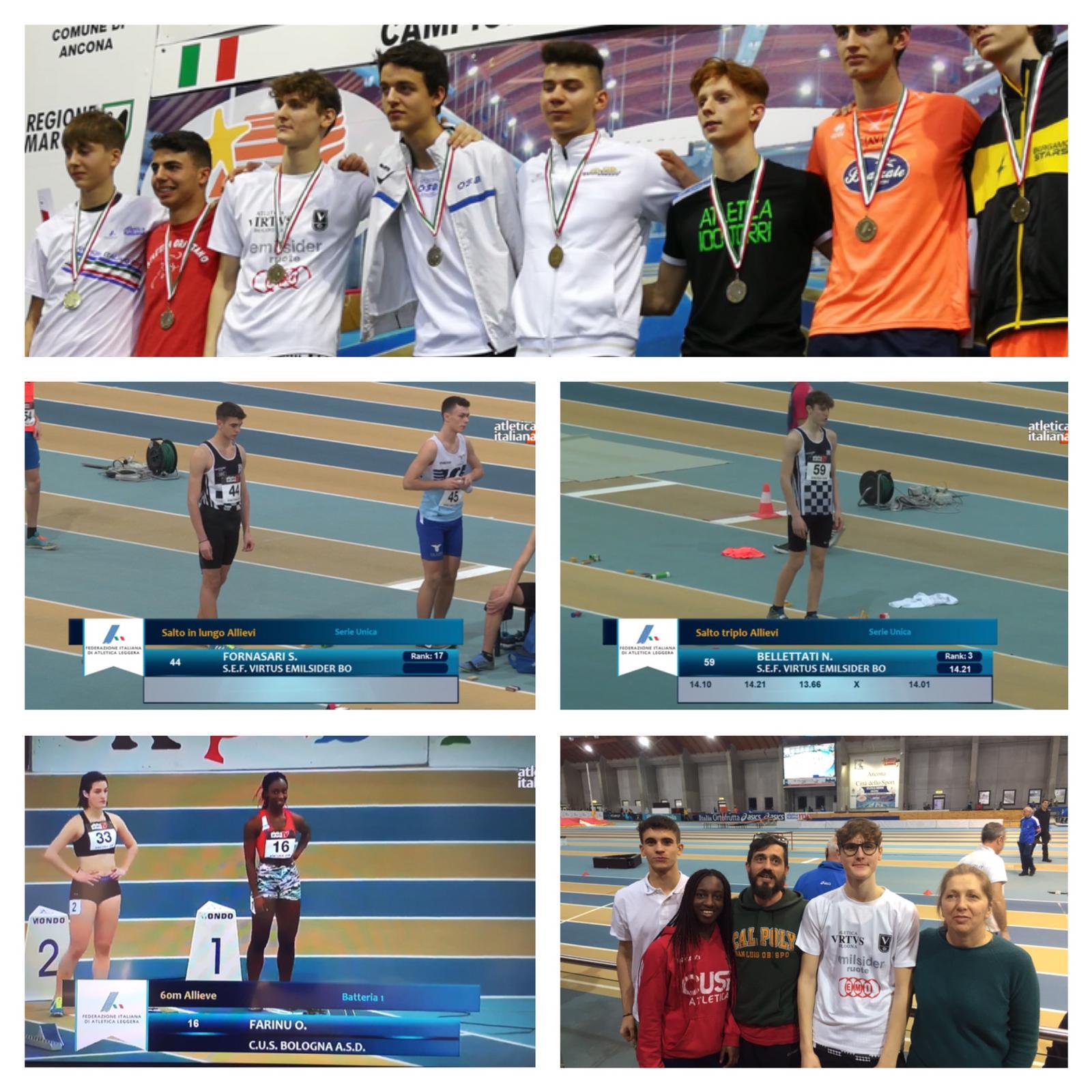Bronzo ai Campionati Italiani di atletica leggera