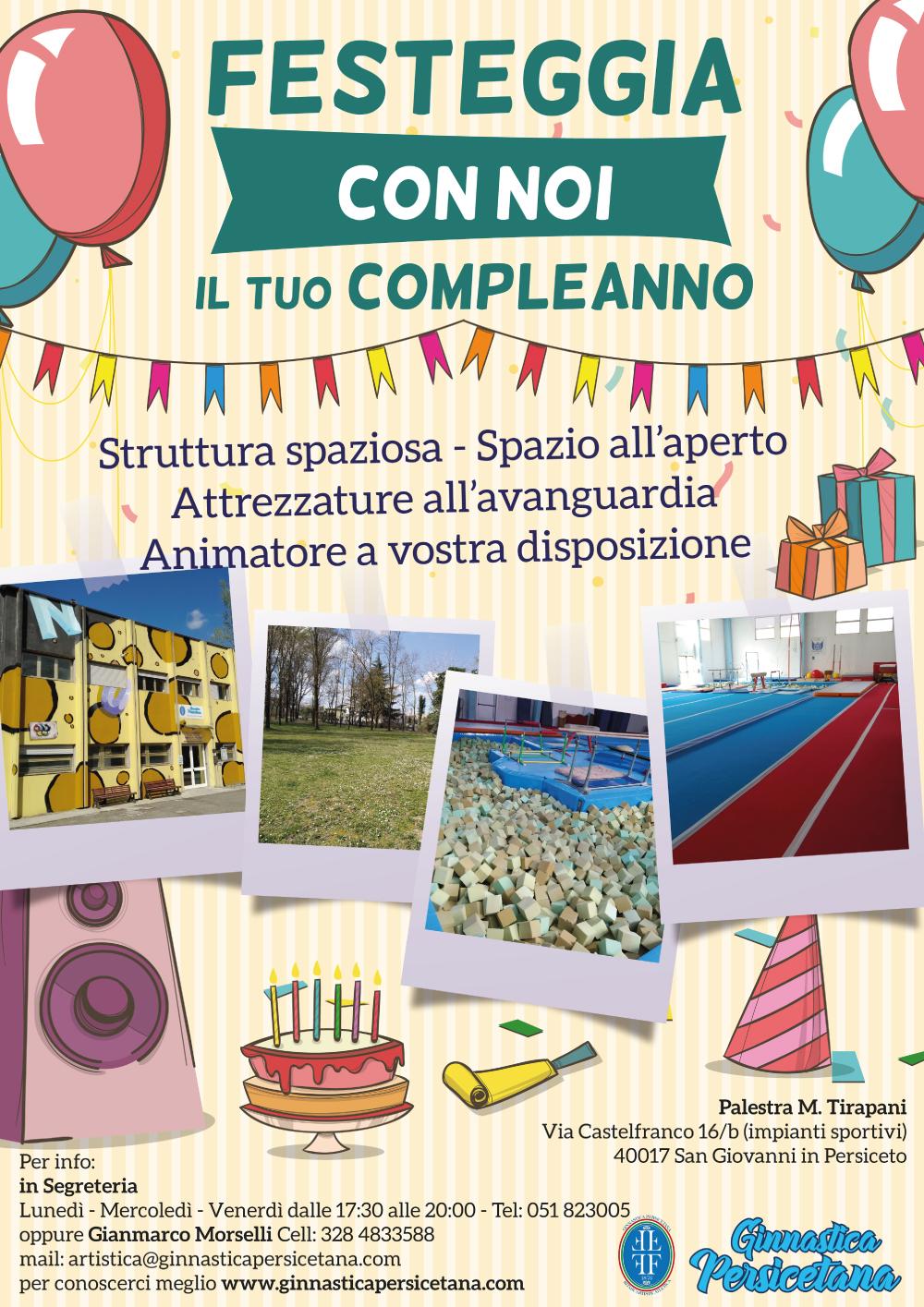 Festeggia con noi il tuo compleanno
