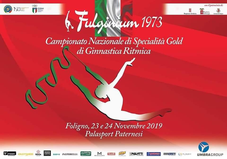 Giulia Gianasi è 9° ai nazionali di Ritmica Gold