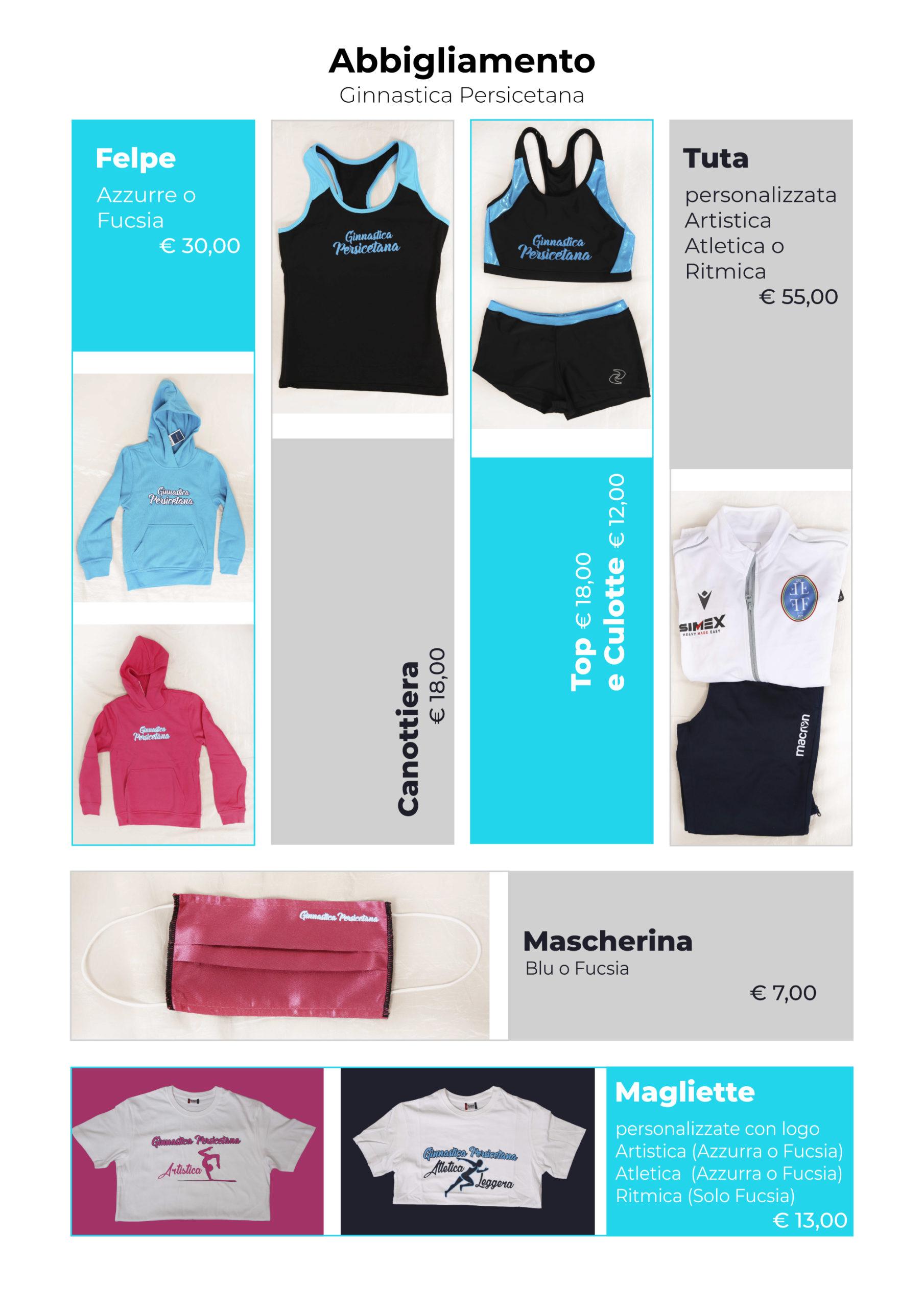 NEW STYLE…. l'abbigliamento per la stagione 2020/2021