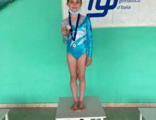 Emma è oro nella competizione individuale LA Silver