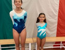 Artistica: Nasi Emilia e Danielli Valentina sono medaglia d'oro